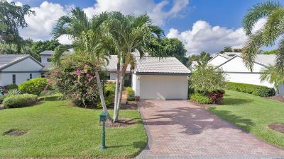 Boynton Beach Single Family Home For Sale: 51 Cambridge Lane