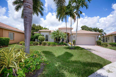 Lake Worth Single Family Home Contingent: 8589 Vintage Reserve Terrace