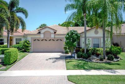 Boynton Beach Single Family Home For Sale: 9860 Lemonwood Way