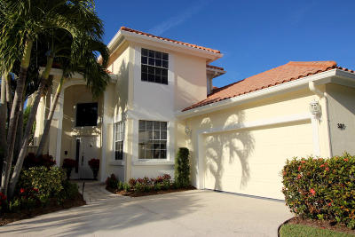 Palm Beach Gardens Single Family Home For Sale: 337 Eagleton Golf Drive