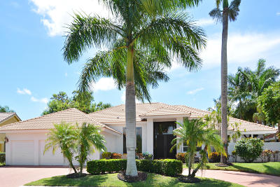 Boca Raton Single Family Home For Sale: 7428 Mandarin Drive