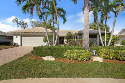 Delray Beach Single Family Home For Sale: 16852 Silver Oak Court