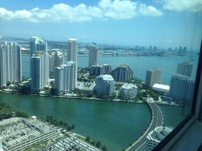 Miami Rental For Rent: 950 Brickell Bay Drive #4700