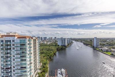 Fort Lauderdale Condo For Sale: 2800 E Sunrise Boulevard #12e
