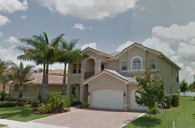 Boynton Beach Single Family Home For Sale: 11814 Foxbriar Lake Trail