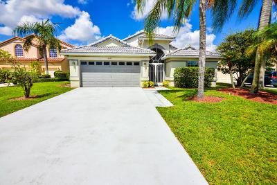 Boynton Beach Single Family Home For Sale: 8653 Windy Circle