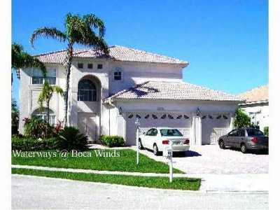 Boca Raton Single Family Home For Sale: 12773 Spikerush Circle