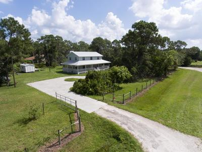 Jupiter Single Family Home For Sale: 13161 170th Road