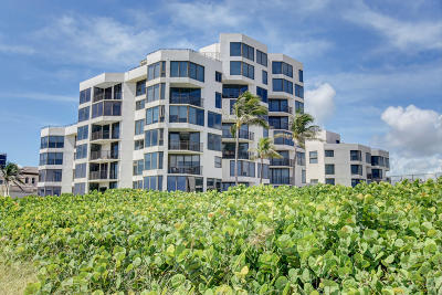 Highland Beach Condo For Sale: 2575 S Ocean Boulevard #312 #s