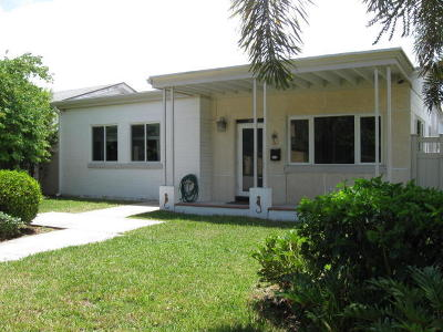 Lake Worth Single Family Home For Sale: 1009 S Palmway