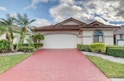 Delray Beach Single Family Home For Sale: 15453 Strathearn Drive