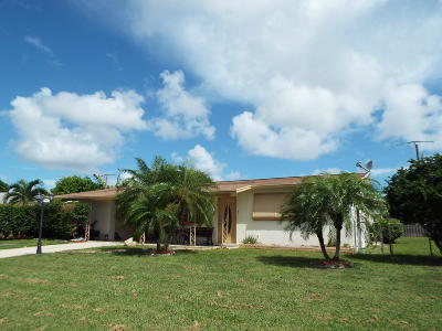 Lake Worth Single Family Home For Sale: 4155 Kivey Drive