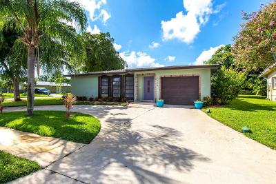 Delray Beach Single Family Home For Sale: 6334 Sleepy Willow Way
