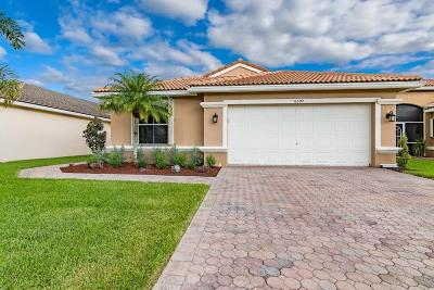 Lake Worth Single Family Home For Sale: 6392 Barton Creek Circle