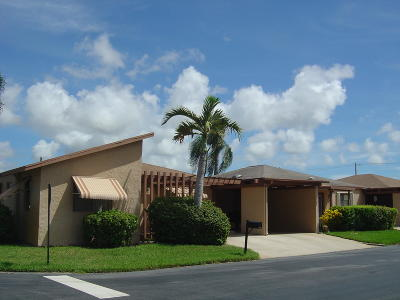Delray Beach Single Family Home For Sale: 14880 Wildflower Lane