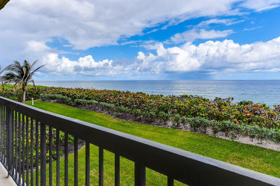 Palm Beach Condo For Sale: 3390 S Ocean Boulevard #203