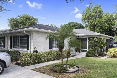 Boynton Beach Single Family Home For Sale: 10075 41st Terrace S #201