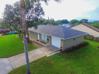 Lake Worth Single Family Home For Sale: 2638 Cambridge Road