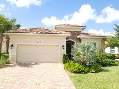 Port Saint Lucie Single Family Home For Sale: 10586 SW Capraia Way