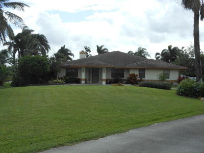 Boynton Beach Single Family Home For Sale: 9402 87th Place S