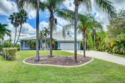 Port Saint Lucie Single Family Home Contingent: 804 SE Portage Avenue