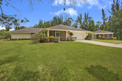 West Palm Beach Single Family Home For Sale: 6028 140th Avenue