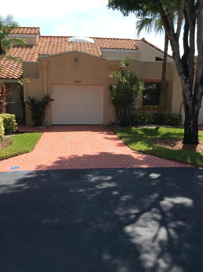 Boca Raton Single Family Home For Sale: 22722 Meridiana Drive