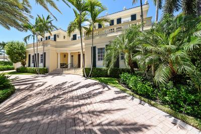 Palm Beach Single Family Home For Sale: 528 Lake Way