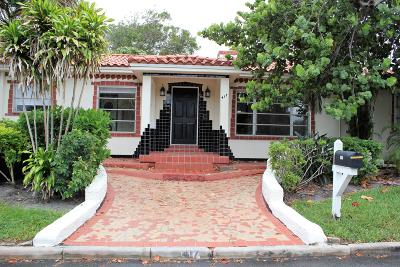 Lake Worth Single Family Home For Sale: 417 12th Avenue