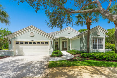 Hobe Sound Single Family Home Contingent: 8049 Mammoth Drive SE