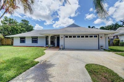 Palm Beach Gardens Single Family Home For Sale: 11625 Hackberry Street