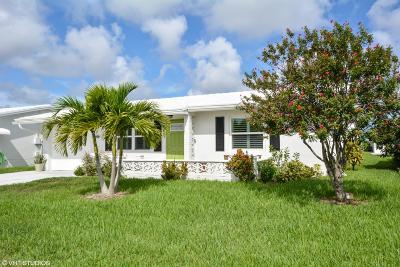Boynton Beach Single Family Home For Sale: 2117 SW Park Drive