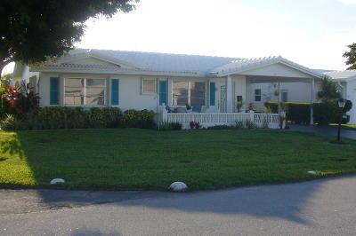 Boynton Beach Single Family Home For Sale: 517 SW 20th Street
