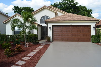 Wellington Single Family Home For Sale: 2706 Linkside