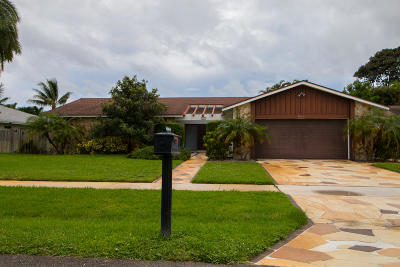 Boca Raton Single Family Home For Sale: 4864 Sugar Pine Drive