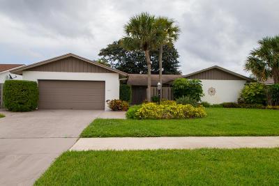 Boca Raton Single Family Home For Sale: 4894 Sugar Pine Drive