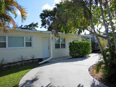 Lantana Single Family Home For Sale: 506 W Mango Street