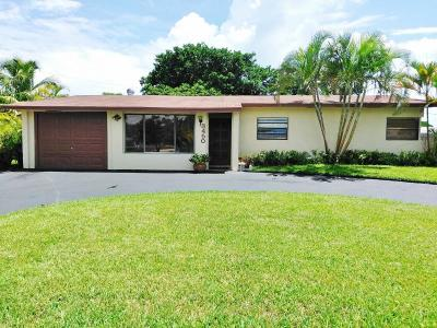 Pompano Beach Single Family Home For Sale: 3450 NE 13th Avenue