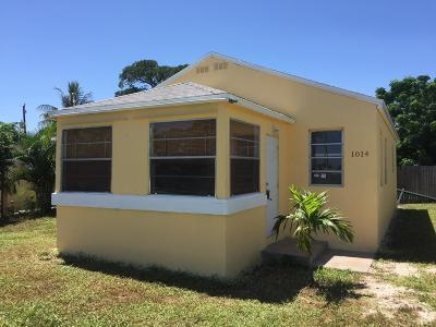 Delray Beach Single Family Home For Sale: 1014 SW 7th Avenue