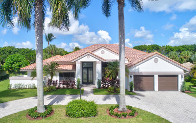 Boca Raton Single Family Home For Sale: 17232 Northway Circle