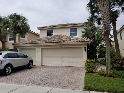 West Palm Beach Single Family Home For Sale: 4292 Onega Circle