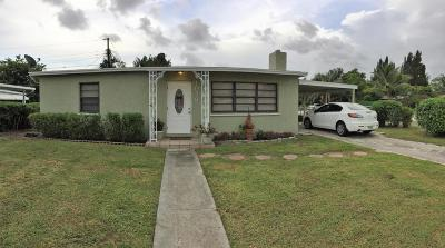 West Palm Beach Single Family Home For Sale: 1026 Cherry Road