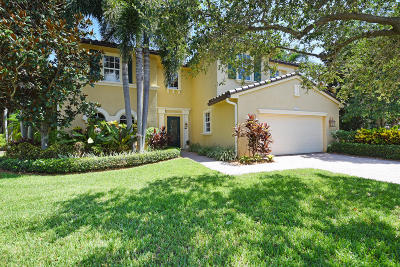 Palm Beach Gardens Single Family Home For Sale: 1225 Merlot Drive