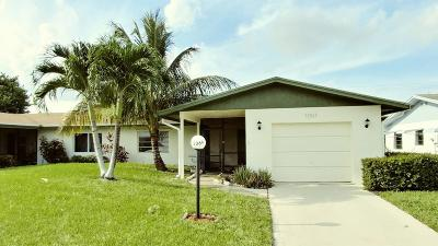Delray Beach Single Family Home For Sale: 13069 Via Vesta