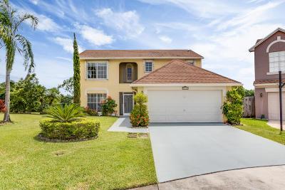 Boca Raton Single Family Home Contingent: 12940 Elmford Lane