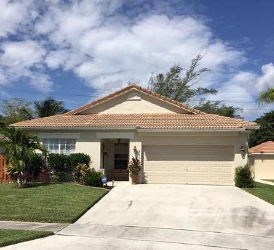 Boynton Beach Single Family Home For Sale: 4375 Sunset Cay Circle