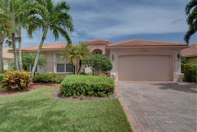 Lake Worth Single Family Home For Sale: 7942 Merano Reef Lane