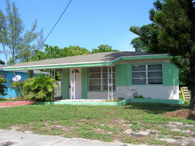 West Palm Beach Single Family Home Contingent: 4116 Greenwood Avenue