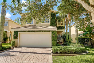 Boynton Beach Single Family Home For Sale: 7938 Picklewood Park Drive