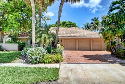 Delray Beach Single Family Home For Sale: 16918 River Birch Circle